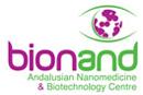 Logo del nuevo centro andaluz de nanotecnología y biotecnología... en su versión inglesa